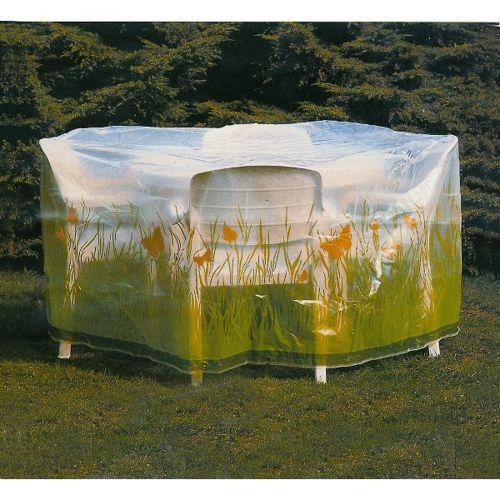 Pokrowce Na Meble Ogrodowe Praktiker : Pokrowiec na meble ogrodowe  okrągły stół + 4 krzesła id 386