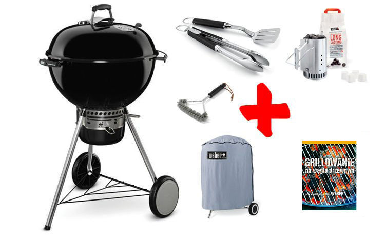 Grill Weber Master Touch GBS 57 cm Zestaw BASIC